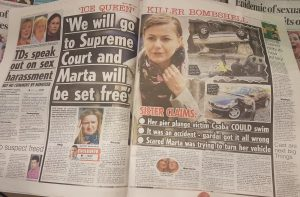 Not authorized article in Irish Daily Star about Martha Herda