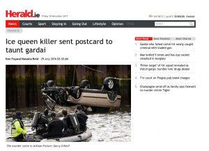 Screenshot of article on Herald.ie