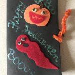 Halloween gift from Martha to her friend's daughter