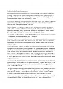 Linguistic misunderstanding - Article